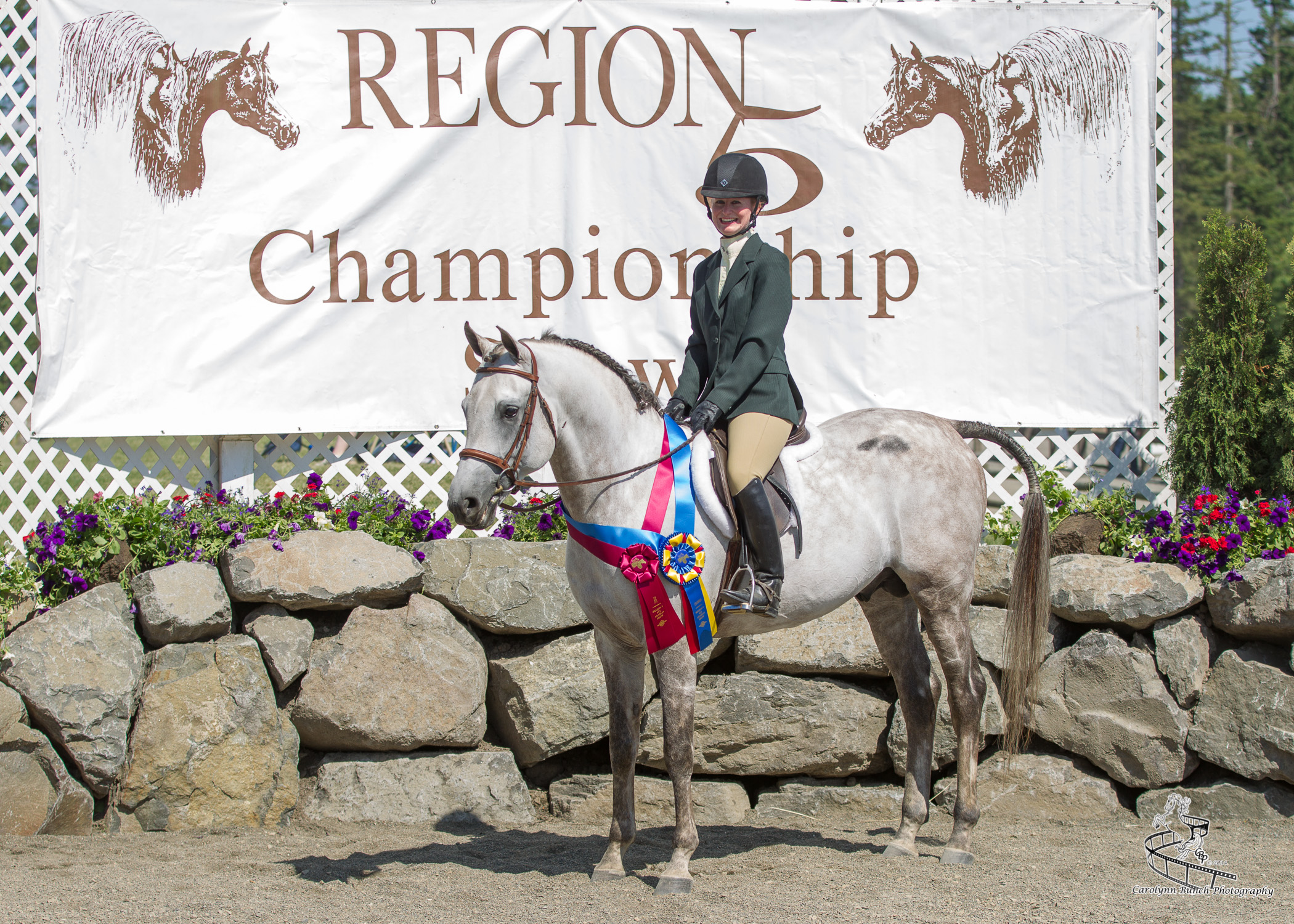 Regional Champion Hunter Hack Kim and Bravo.