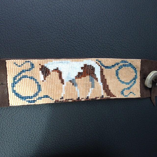 """A Heavenly Impluse"" custom bracelet."