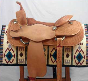At Avila's Pro Shop™ we have developed a line of saddles for the trainer, the cowboy, and the showman. We have carefully designed and contracted with one of the finest saddlemakers in the world to build these saddles solely for Avila's Pro Shop™.