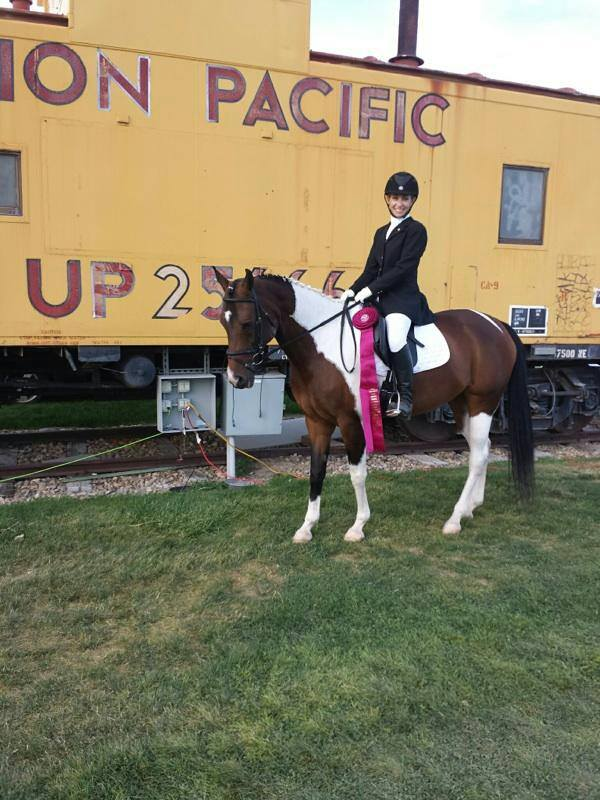 Michelle and Squid Top 10 Sporthorse Nationals