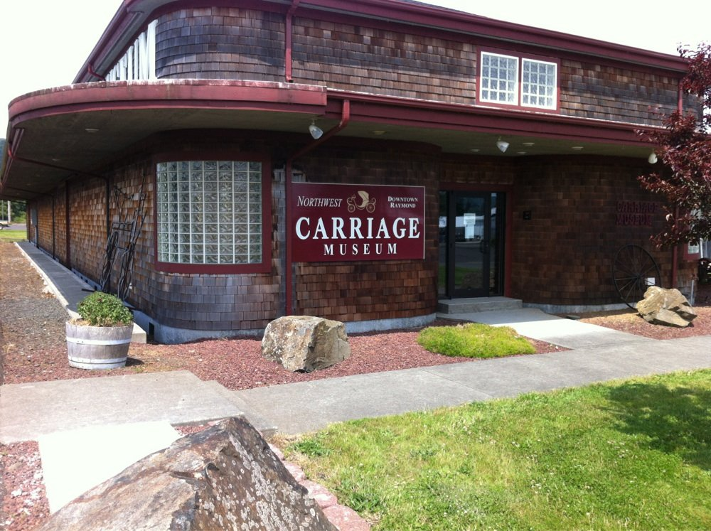 We are located at 314 Alder Street in Raymond, WA    Corner of Hwy 101