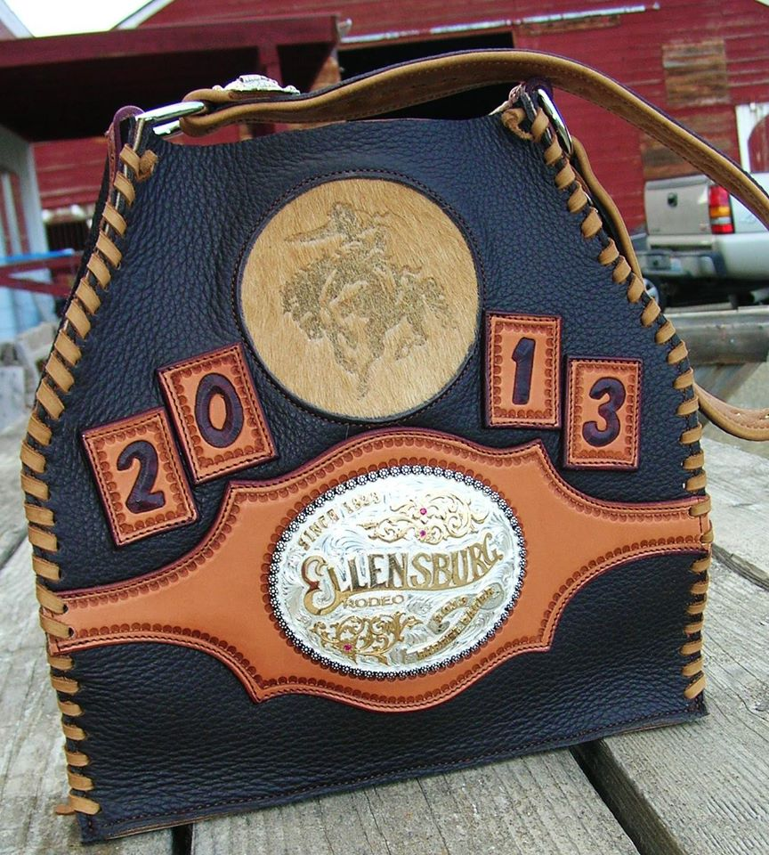 I am always humbled to be asked to build this every year, thanks to Kendra Sterkel! I love my job because I love my customers…here is this year's 2013 Barrel Racing award for the Ellensburg Rodeo!