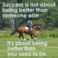 Success being better