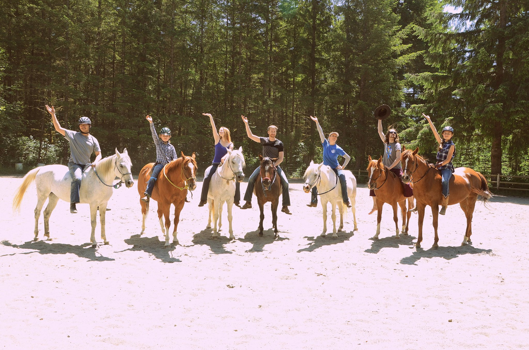 Riding Packages are available for riders who have taken several lessons at the ranch and are above the very beginner level. Packages are month to month. You can ride using any of the ranch facilities