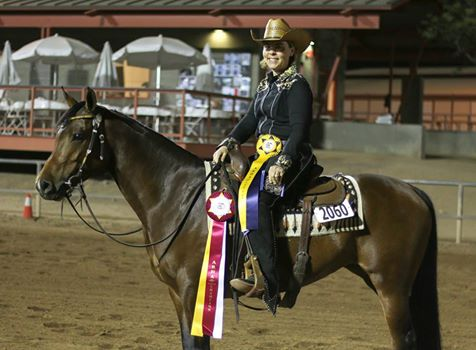 Congratulations to Larae Fletcher Powell and Nspiring FortheTop (Nobles Top Gun x Nspiring Jazz) on their Reserve Championship in the Level 1 Purebred Reining Futurity and 4th place finish in the Level 4.