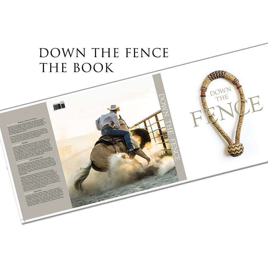The makers of Down the Fence, the much-anticipated documentary film about the sport of reined cow horse, captured thousands of incredible still pictures during their moviemaking journey. They compiled the best of these stunning images into a gorgeous book – and one of the first limited-release copies can be yours!