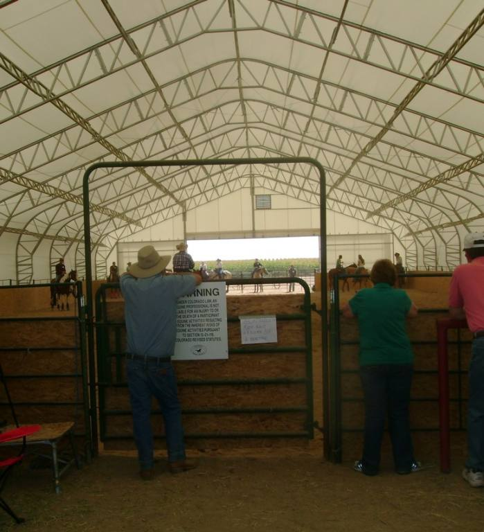 WeatherPort Riding Arena