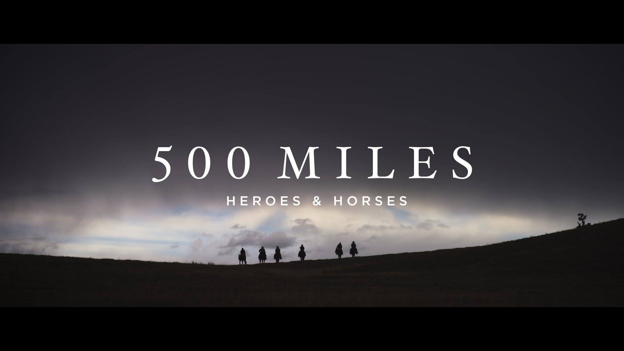 We have so many exciting things to share with all of you as we lead up to the release of 500 Miles on November 10th. Our hope with all of this? That it starts a conversation. A real conversation about why organizations like Heroes and Horses need to exist, and why all of us – whether you are a veteran or not – have a responsibility to question our relationship with challenge and purpose.