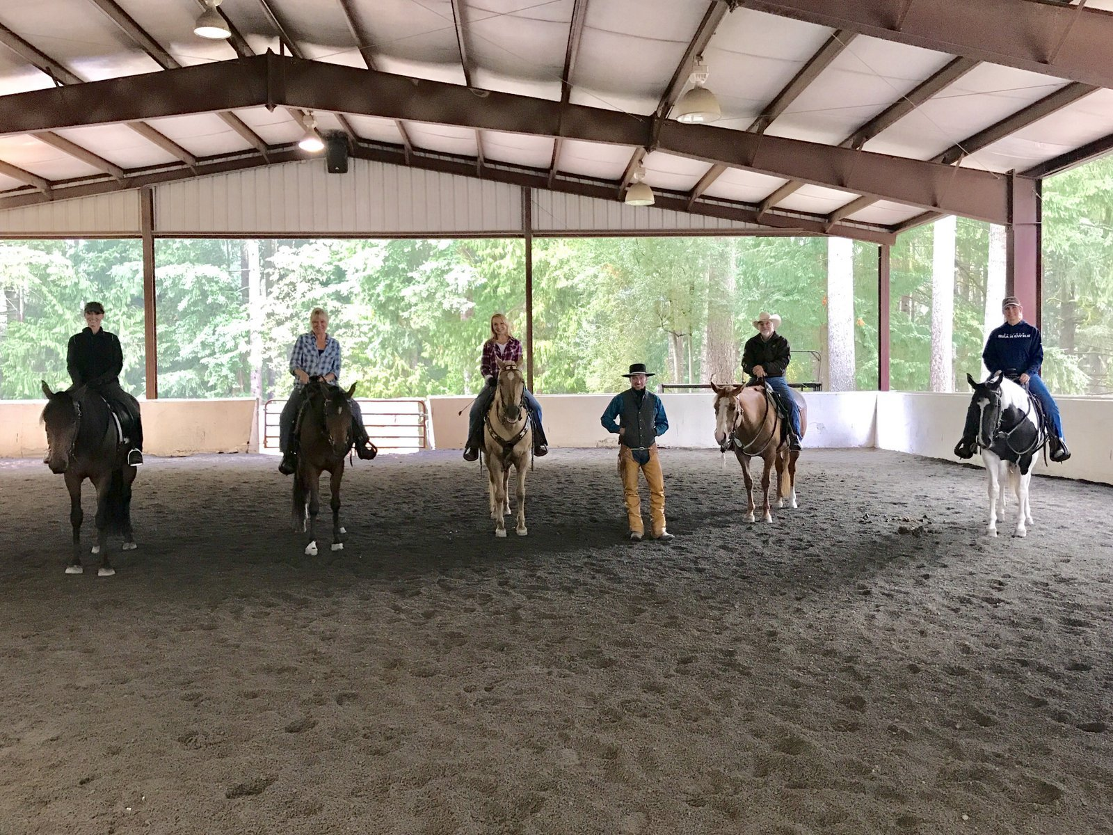 Evan Bonner Horsemanship offers a variety of clinics.