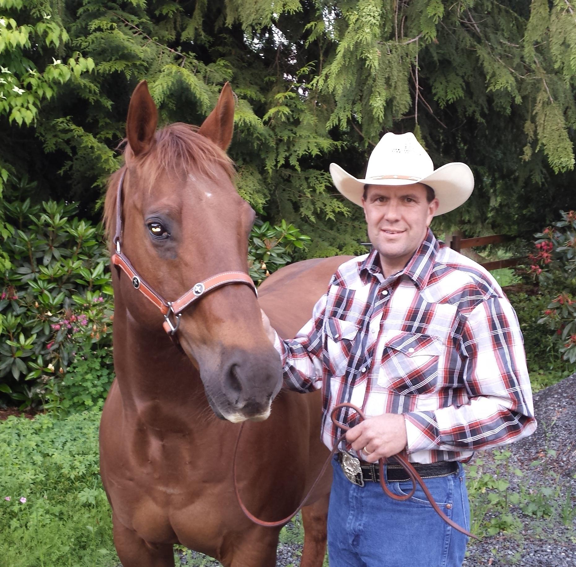 Dr. Travis McKinzie, one of our ambulatory veterinarians
