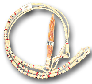 We are sure you will agree that this is the best quality rawhide and braiding you've seen anywhere.