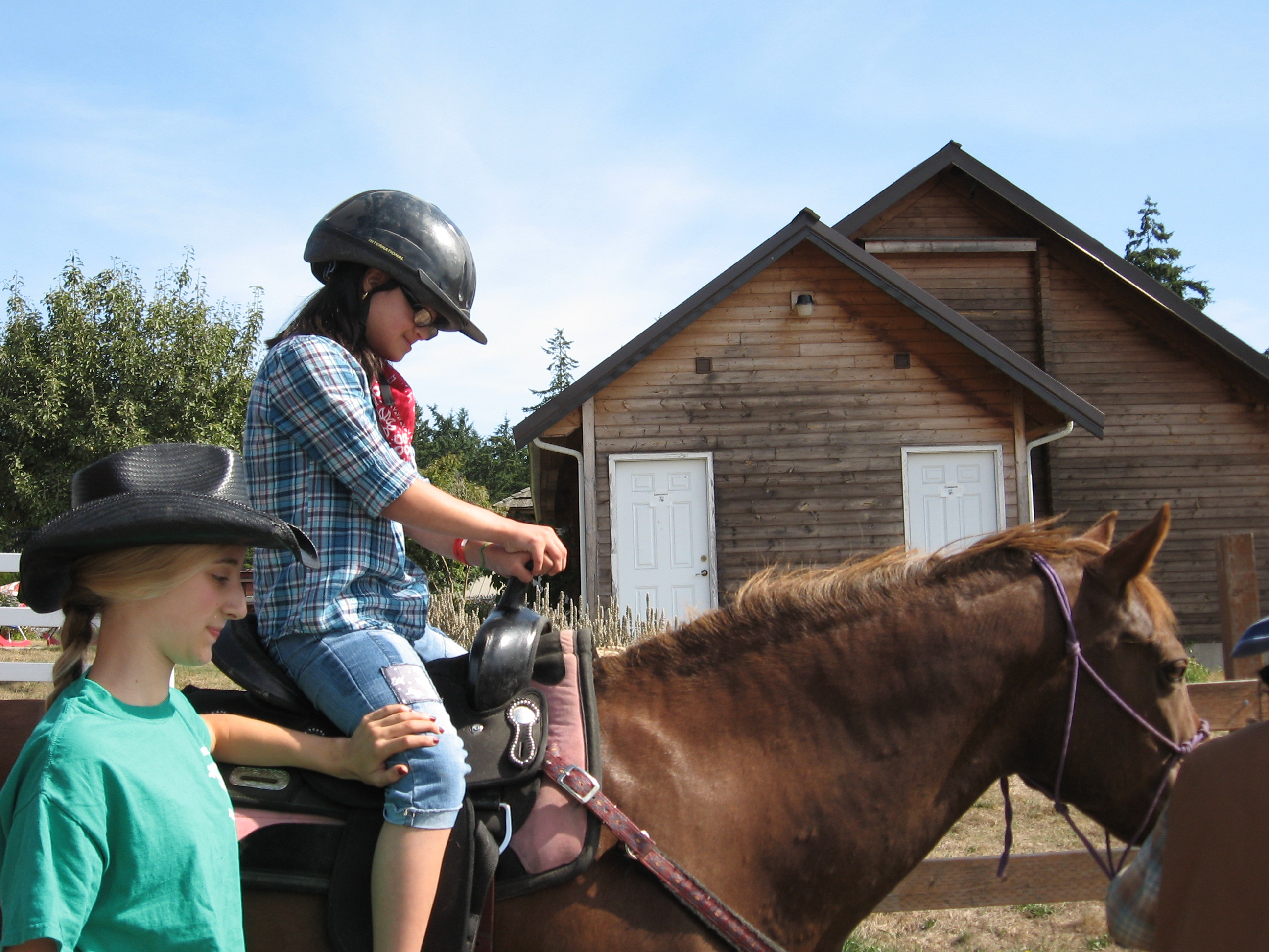 First Time on a Horse