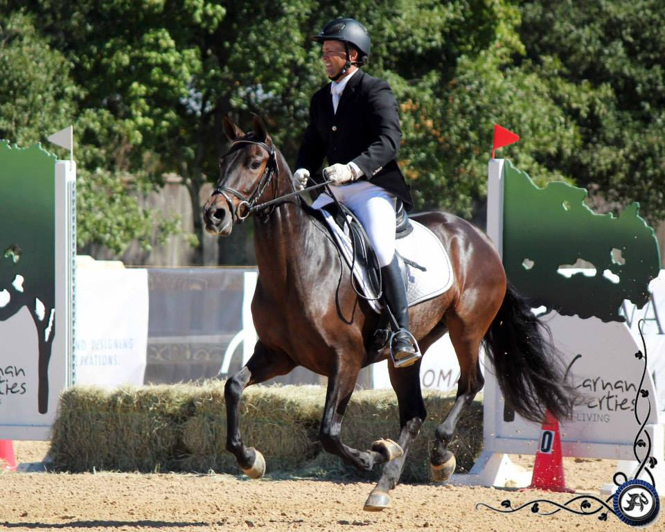 Oregon horse competing at the 2014 WE National Championship (Haras Cup) in TX: Speed Trial