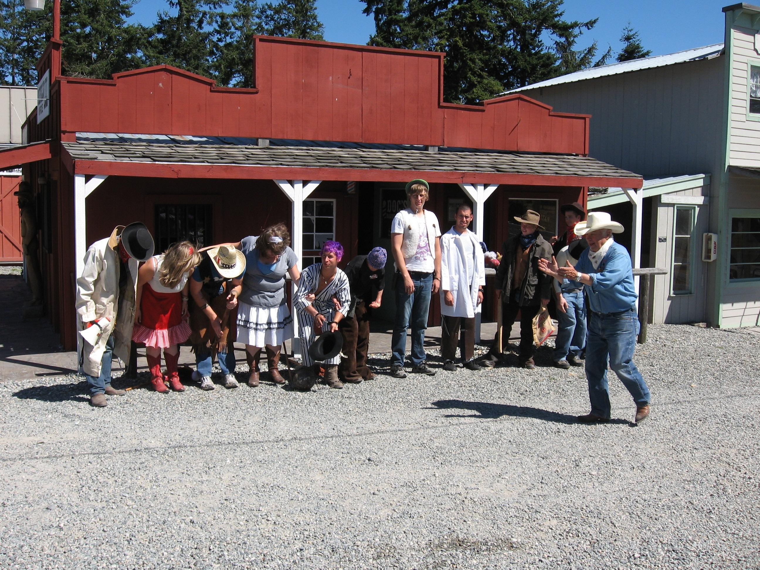 Cowboy Town skit