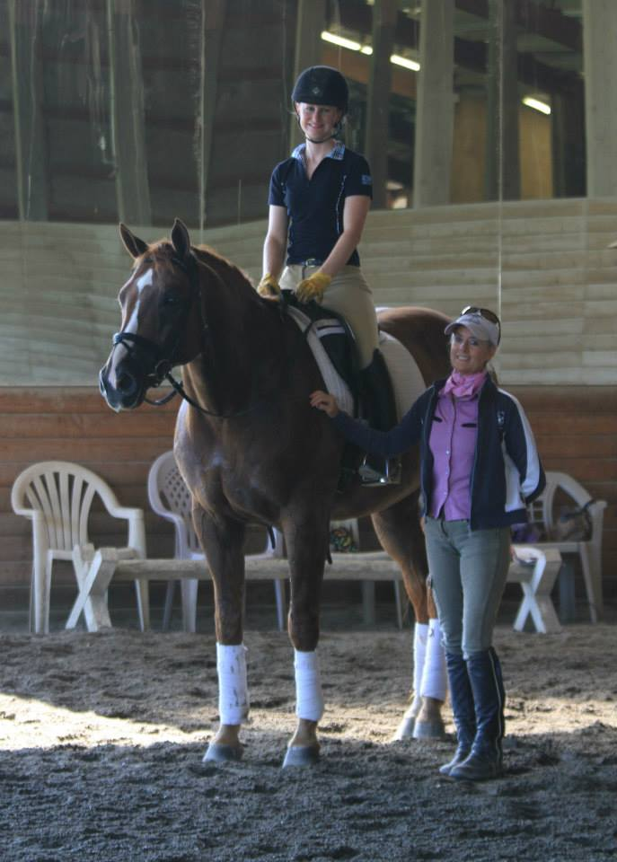 Kim Lacy and Patience Prine-Carr Clinic