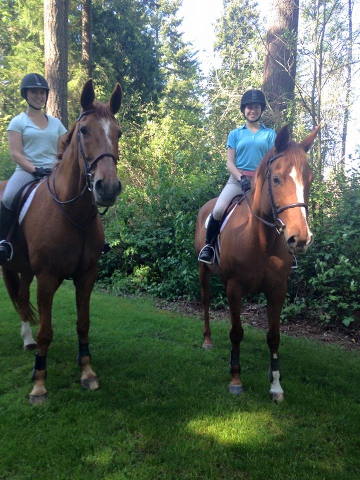 Melani on Eiffel and Tessa on Claire