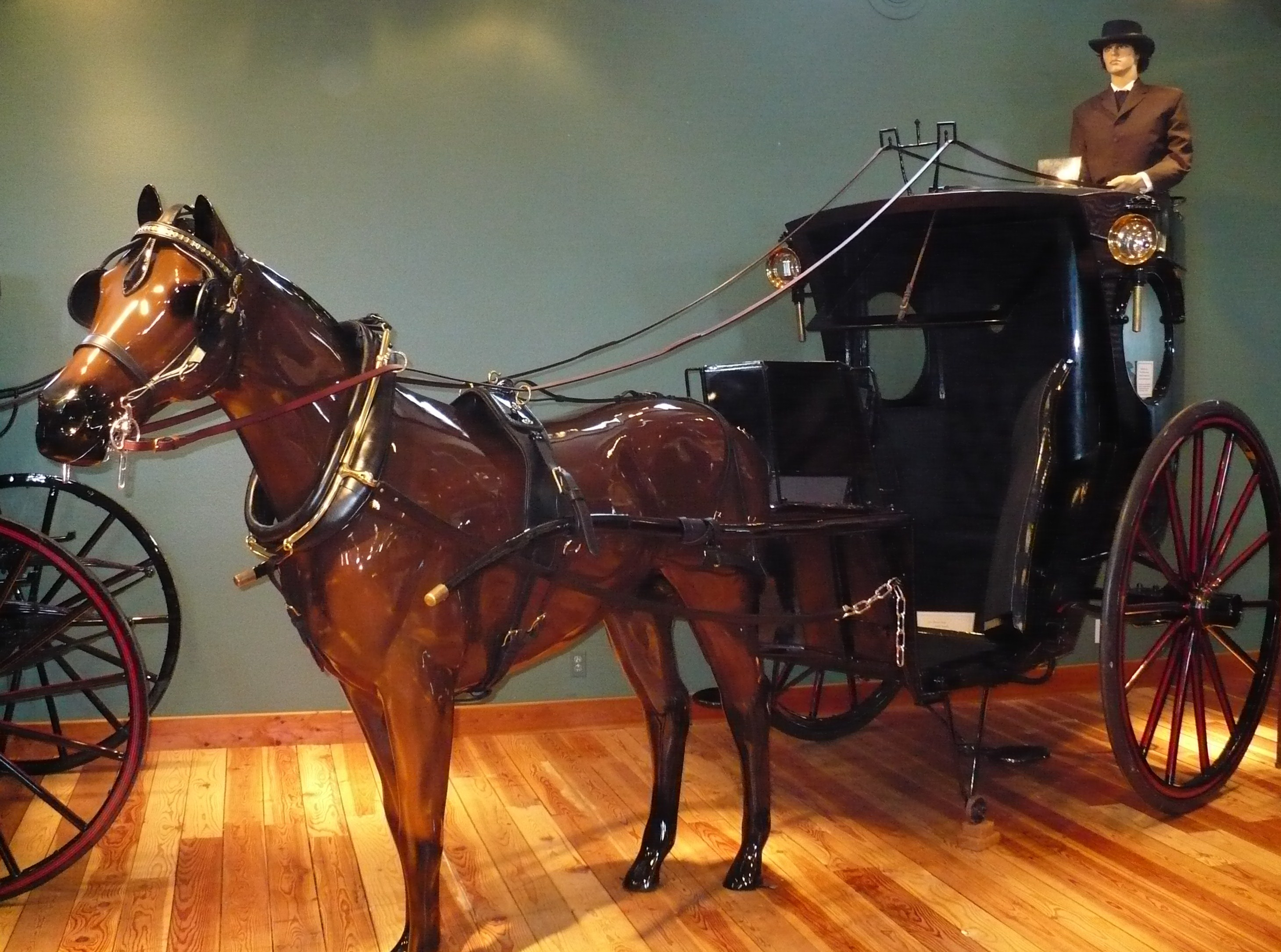 The museum has also earned a national reputation for carriage knowledge including historical and restoration information.
