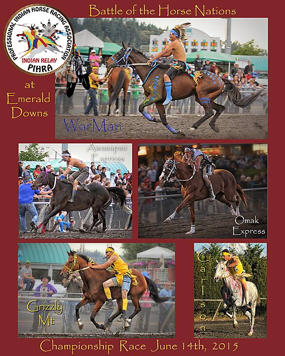 Here they are!!! Finals of BATTLE OF THE HORSE NATIONS at EMERALD DOWNS!!!  – Thanks Diana Volk Photography!