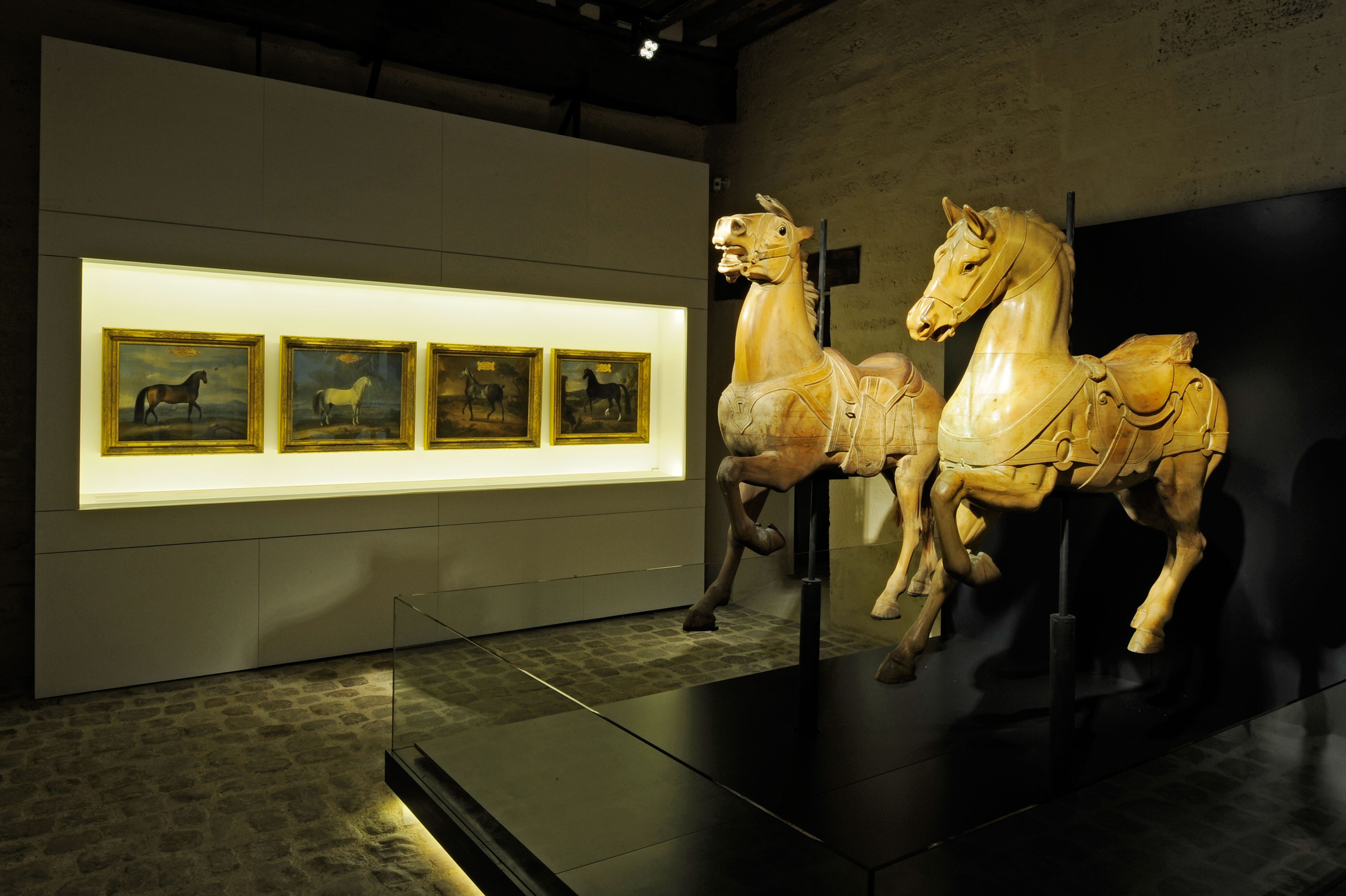 The museum of the Horse is open to all visitors, experts and novices alike. Its resolutely contemporary museography, offering a large number of interactive resources, gives visitors a vision of the horse and its history that is both pedagogical and enjoyable.