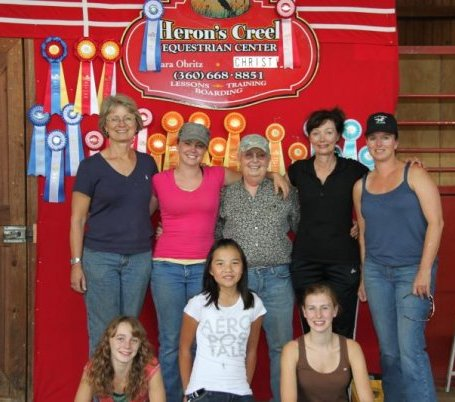 Herons Creek Equestrian Center a place of fun and success.  Offering quality Boarding, Lesson, and Training in the Snohomish/Woodinville area.  Come join us and share in this wonderful journey!