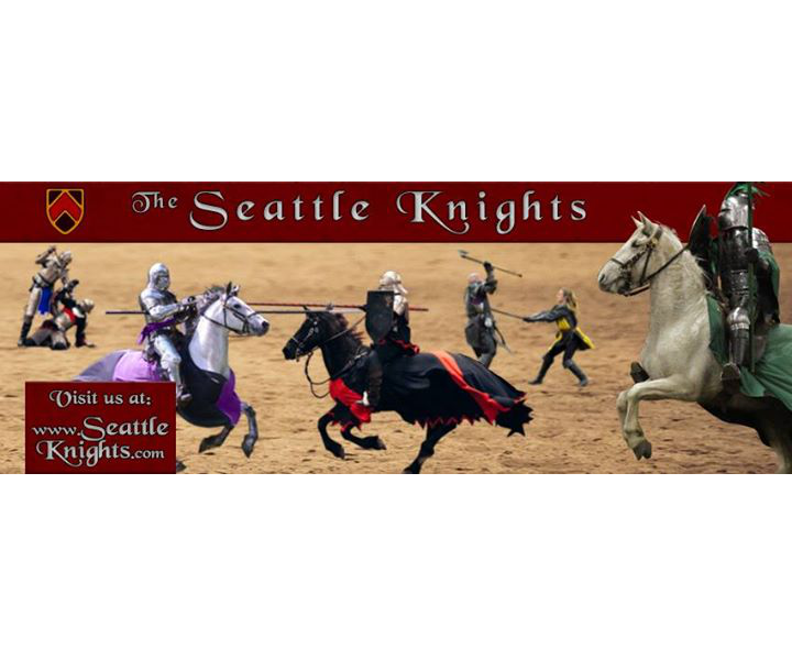 The Seattle Knights and the Pirates of Puget Sound are the Pacific Northwest's premiere sword fighting and jousting theatrical troupe.