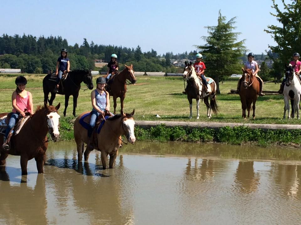 Stanwood Equestrian has a 20 acre cross-country course that provides multi-discipline fun.