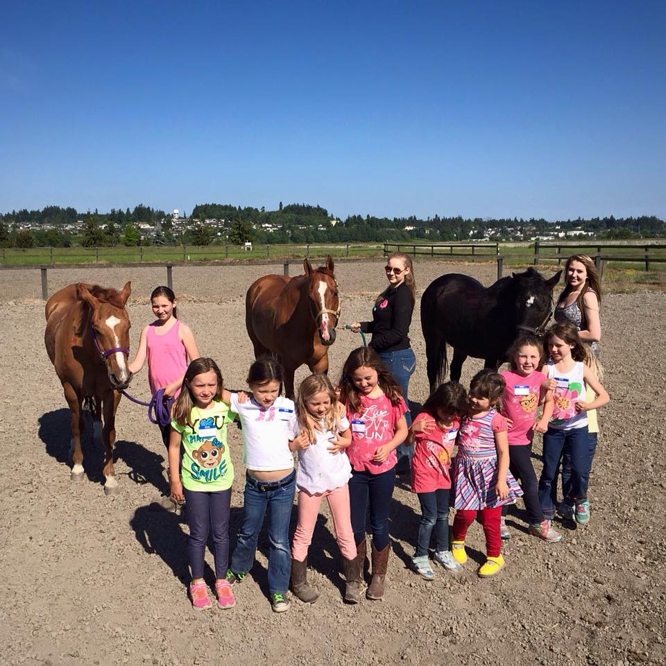 Ready to Ride is proud to be an affiliate of the Girl Scouts of Western Washington. We offer both group and private events for troops of all ages.