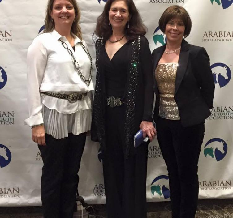 Your Daffodil delegates at the 2015 AHA convention.  Carrie Olson, Joyce Thomas, and Michelle Pease-Paulsen.