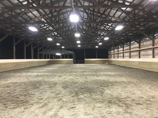 Welcome to new our Western Sky Equestrian Center.  Arena lights are done. Covered roundpen lights done. Can't wait to share. Woo hoo!!!! So excited, feeling grateful for everyone's help throughout the move and getting this ready to share!