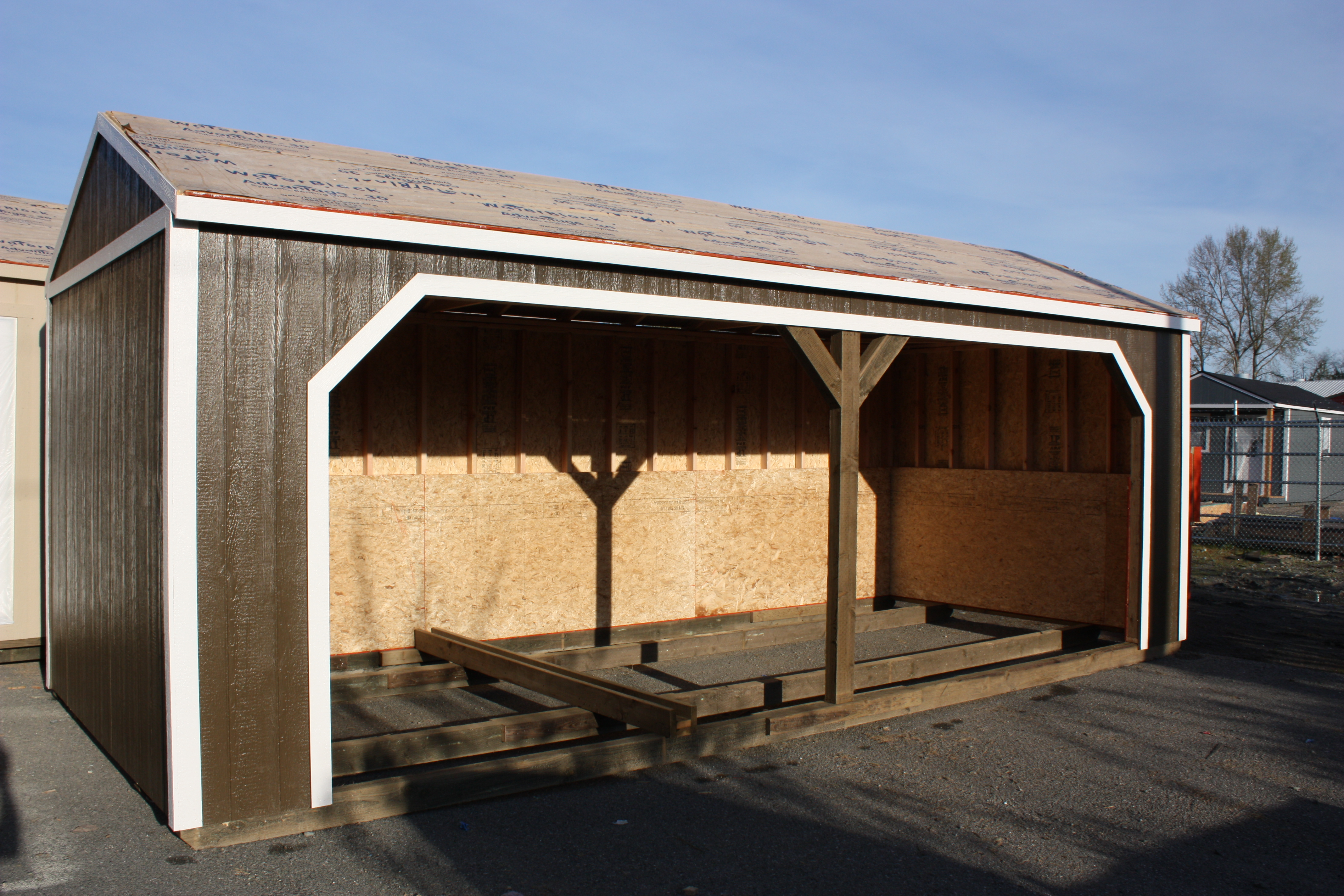 See our website for additional details on sheds.