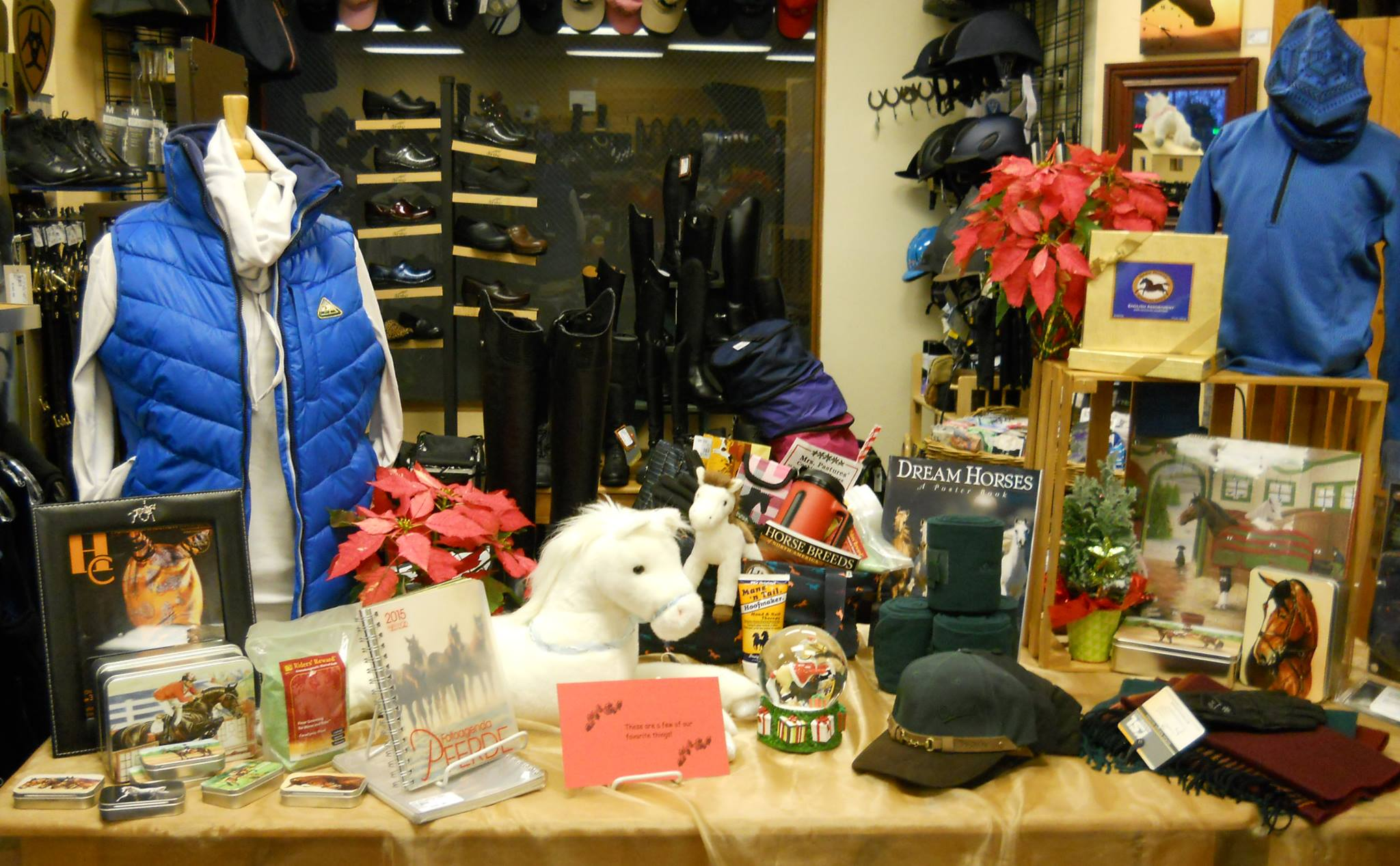 Stop by the store and see the variety of products available. Including the new Horse/Dressage Book Lending Library,