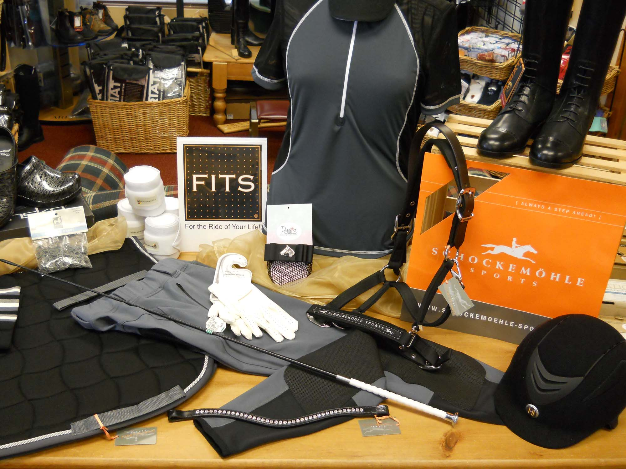 Wide selection of apparel, helmets, and more!