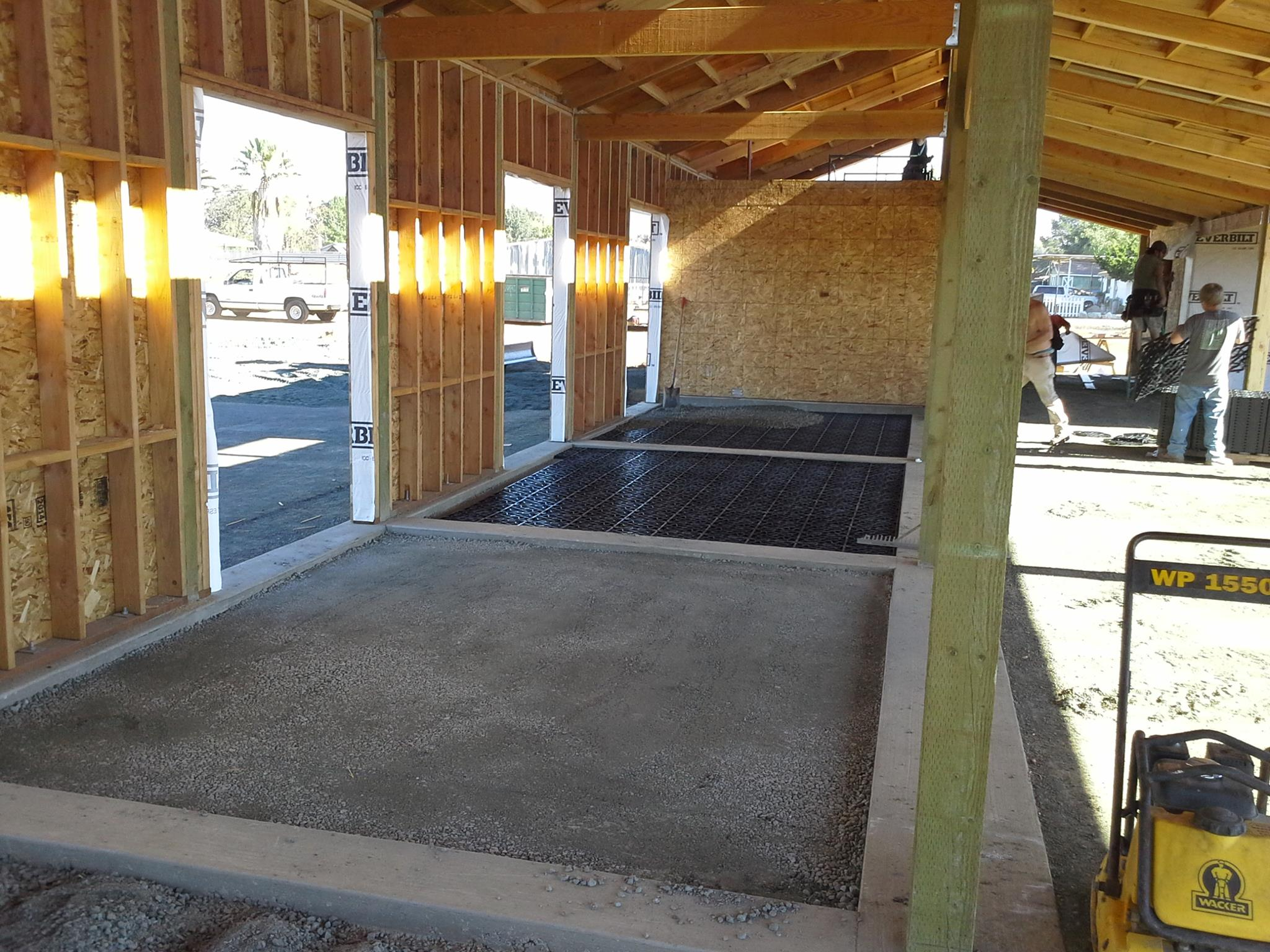 DC buildings international, builds custom Equestrian facilities , they will be installing Ecogreengrid in all of the stalls, and outside paddocks.