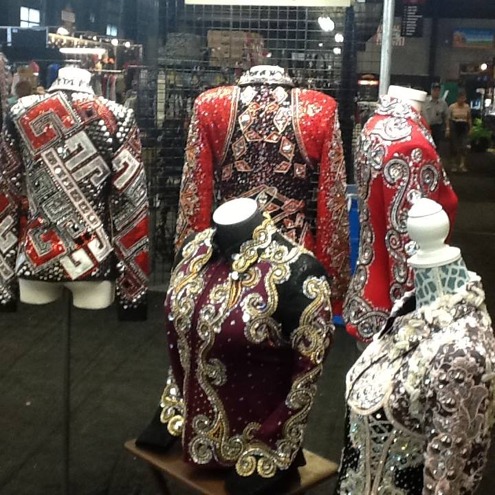 There are lots of new western show jackets.