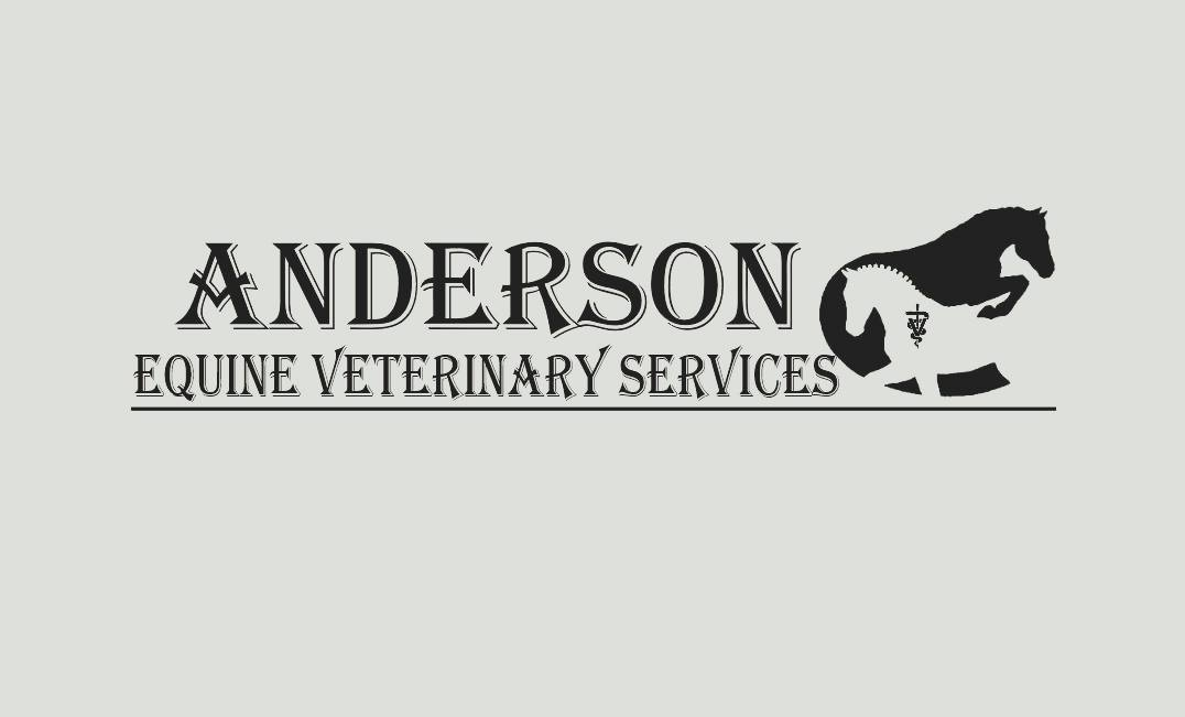 I am very excited to announce the opening of Anderson Equine Veterinary Services!
