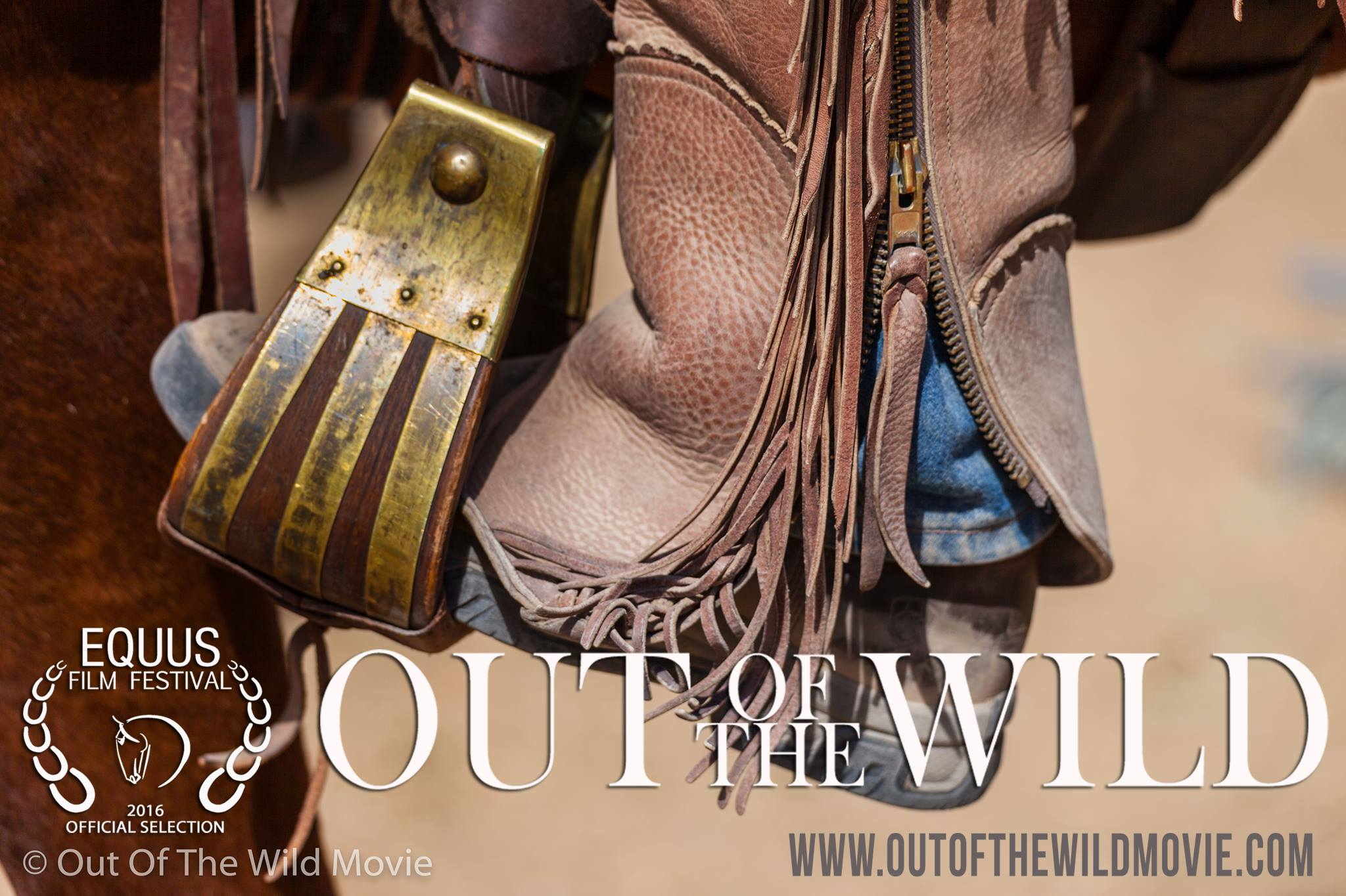 'Out of the Wild' has won a WINNIE award at the prestigious 2016 EQUUS Film festival in NYC.