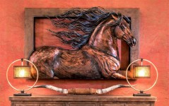 bronze-horse-wall-sculpture